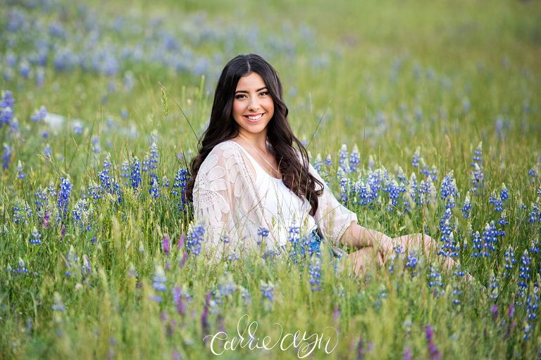 Folsom Lake Senior Session by Carrie Ayn