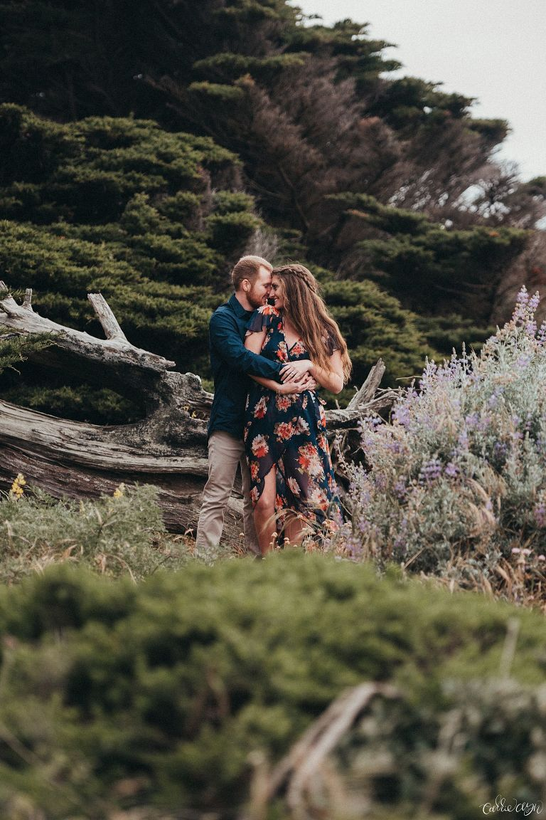 A Sutro Baths Engagement Session in San Francisco