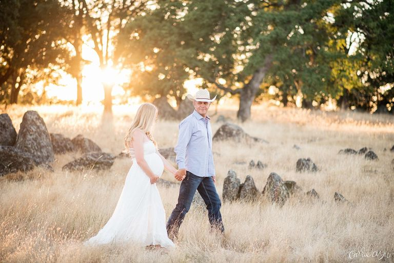 Rancho Murieta Country Maternity Session