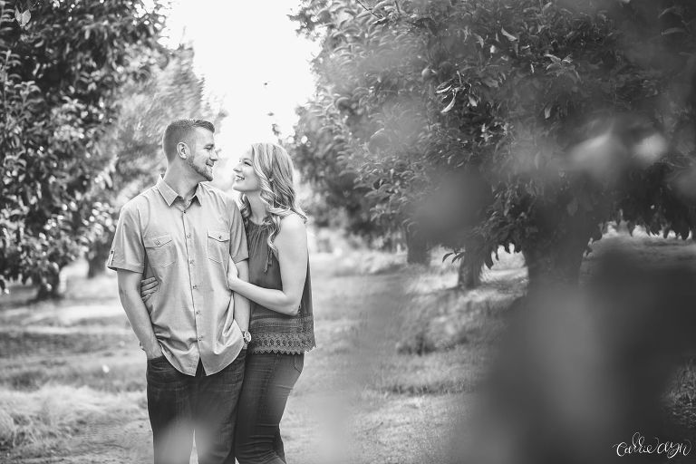 Apple Hill High Hill Ranch Engagement Session