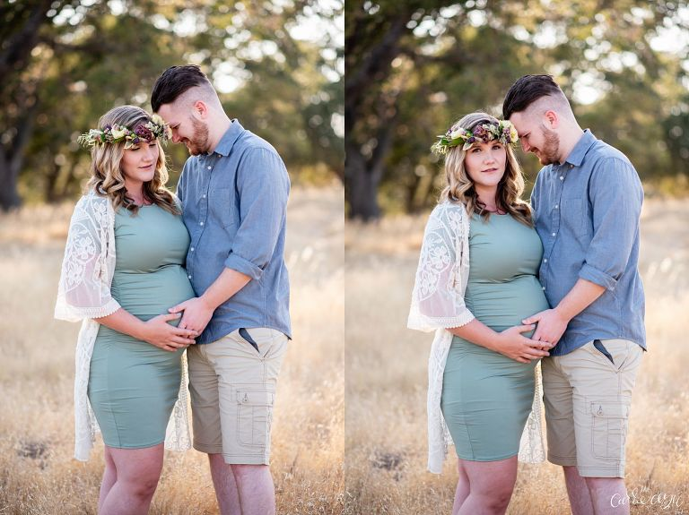 A Sunny Rancho Murieta Maternity Session