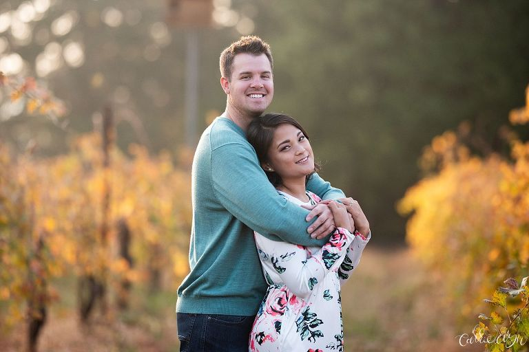 Apple Hill Engagement Session Madrona Winery