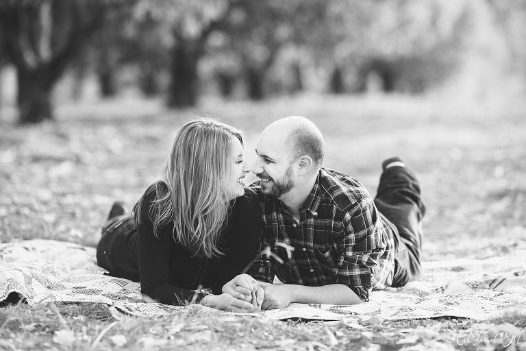 Apple Hill Engagement Session at High Hill Ranch
