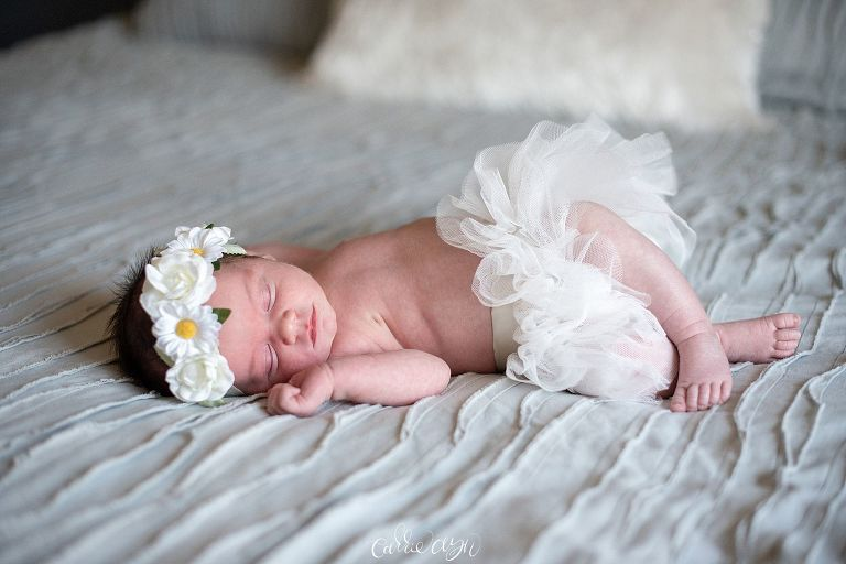 Lifestyle Newborn Session in Clovis